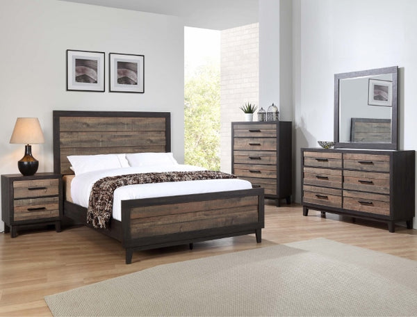 TACOMA 2 TONE BEDROOM GROUP SET B8270 - Best Discount