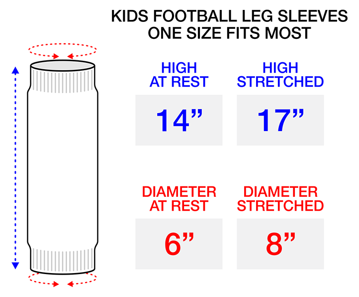 Kids Football Leg Sleeves