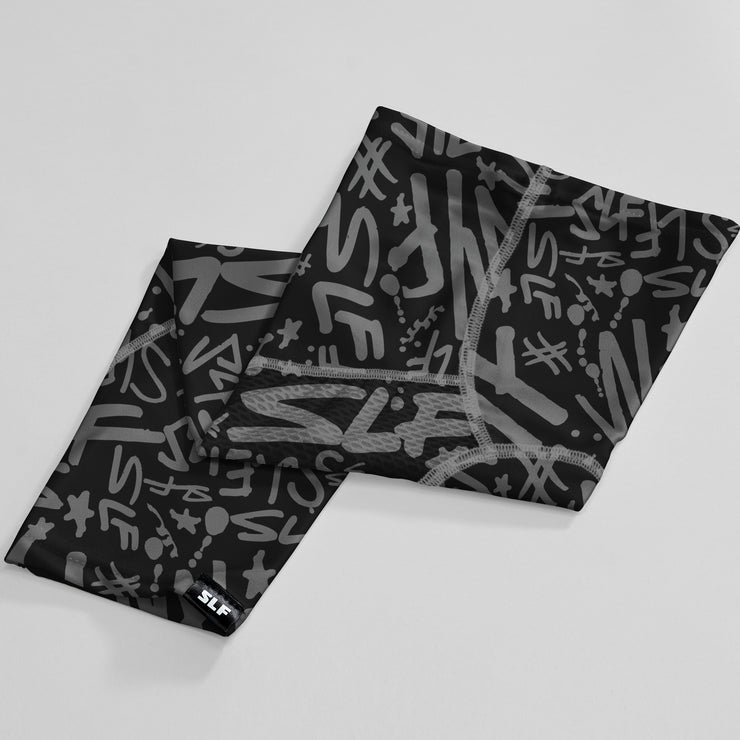 Blessed Spell Out Black White Arm Sleeve