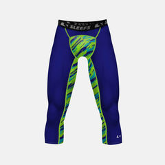 Tryton Oceanica compression 3/4 tights / leggings