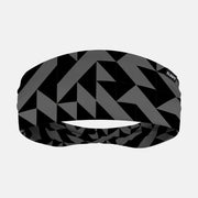 Abstract Charcoal Headband