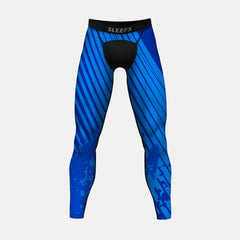 Aerial Blue Tights for men