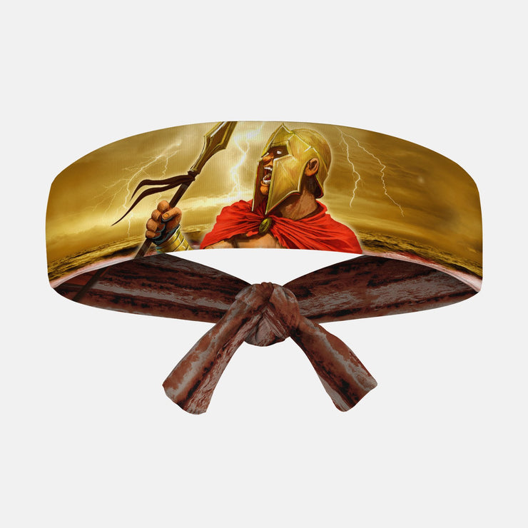 Ancient Spartan Kids Tie Headband