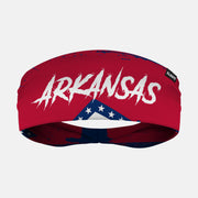 Arkansas State Flag Headband