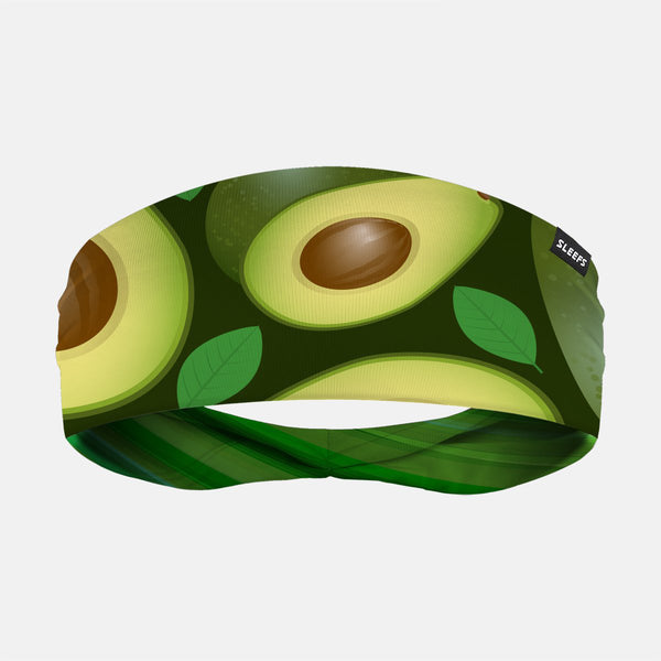 Avocados And Leaves Doublesided Headband
