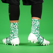 Aztec Green Spats / Cleat Covers