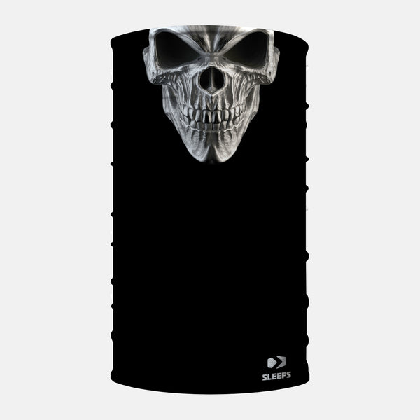 Black Skull Neck Gaiter