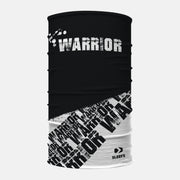 Black White Warrior Neck Gaiter