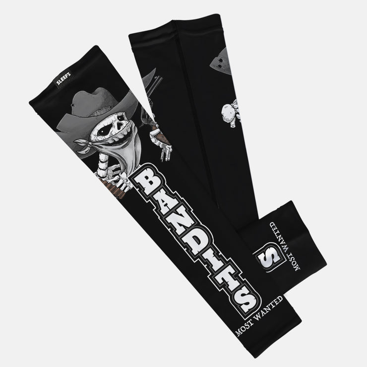 Bandits Black Kids Arm Sleeve