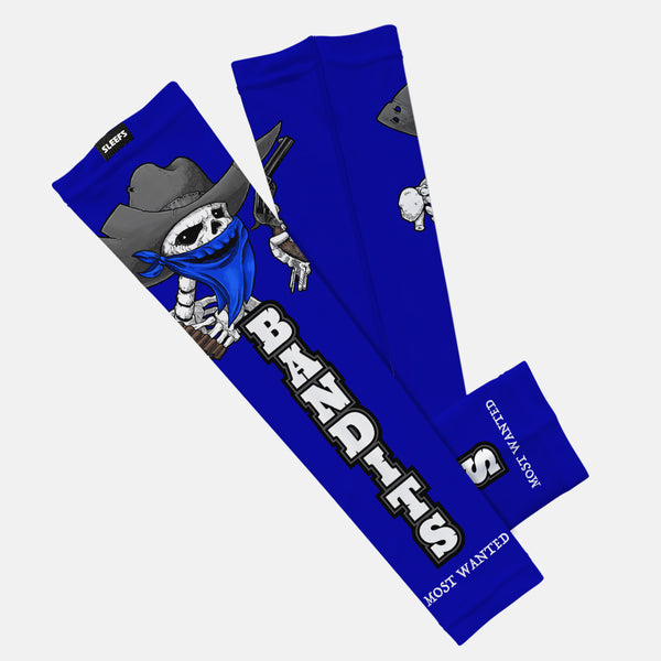 Bandits Blue Kids Arm Sleeve
