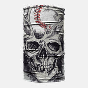 Baseball Skull Head Neck Gaiter