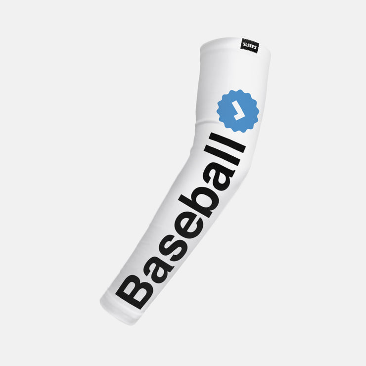 Baseball Verified Kids Arm Sleeve