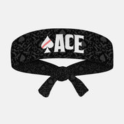 Baseball Ace Kids Tie Headband