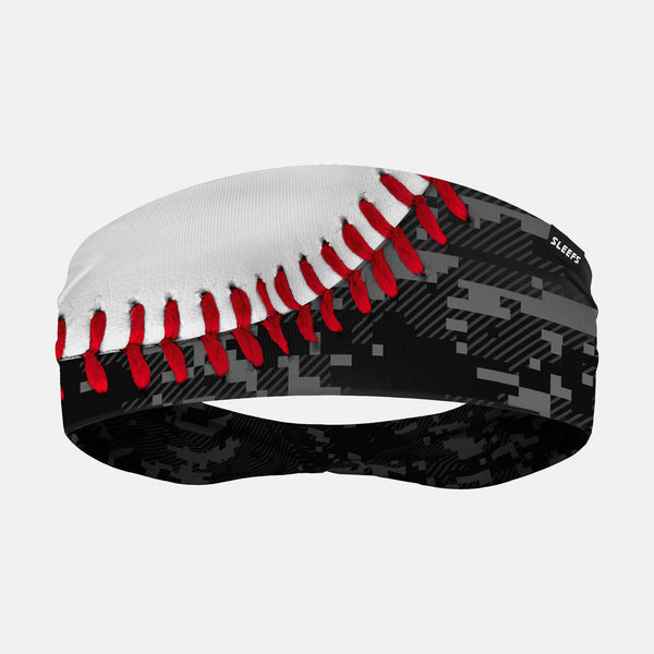 Baseball Digital Ultra Charcoal Headband