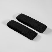 Basic Black Cotton Bicep Bands