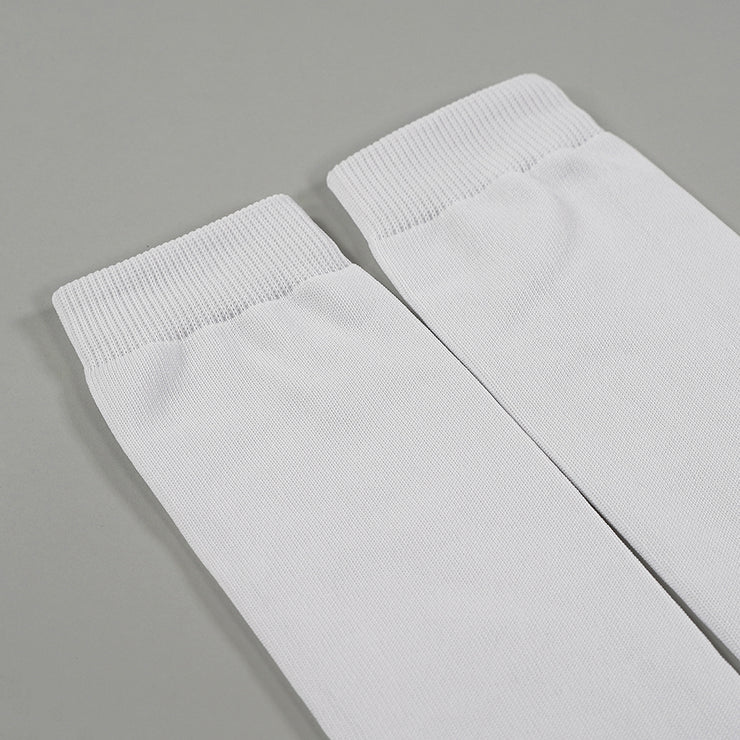 Basic White Football Leg Sleeves