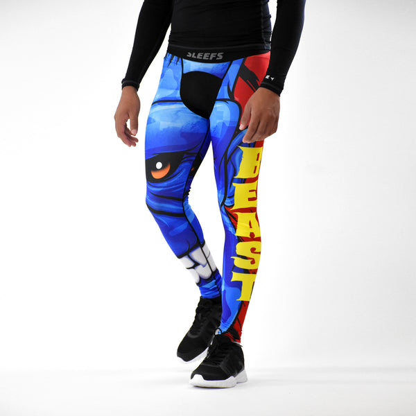 Beast Monster Blue Tights for men