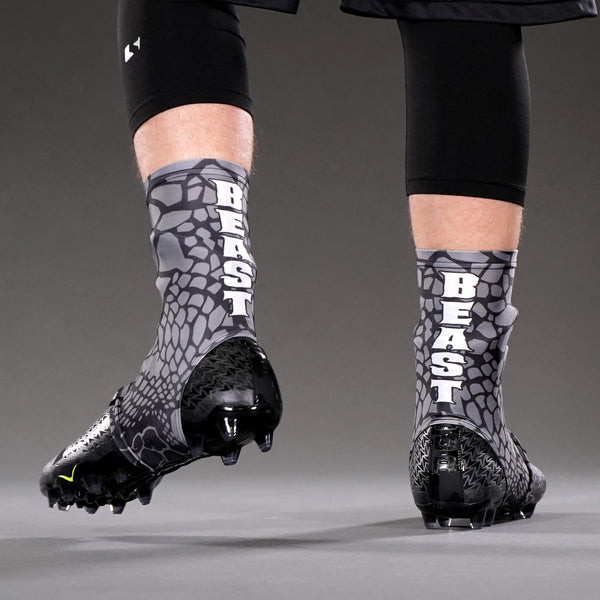 Beast Snake Skin Gray Spats / Cleat Covers