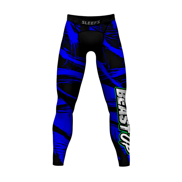 Beast Up Blue Tights for men