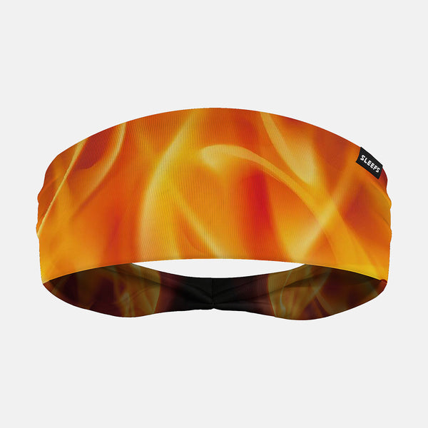 Sleefs - Black Fire Wide Headband