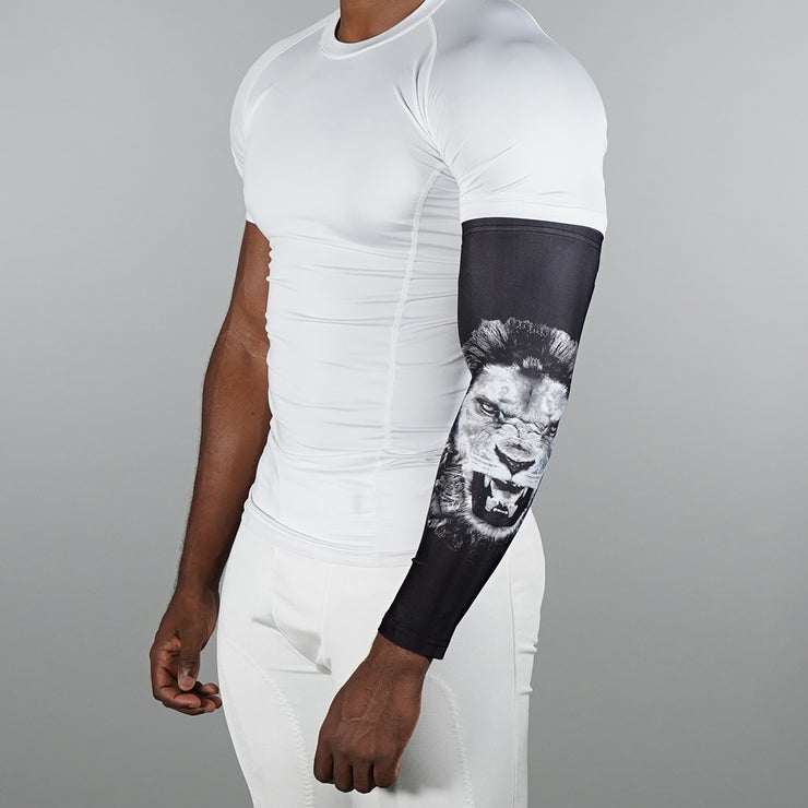 Black Lion Arm Sleeve