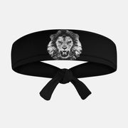 Black Lion Kids Tie Headband
