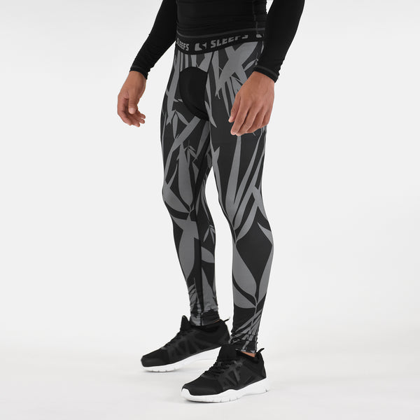 Bamboo Black OPS compression tights / leggings