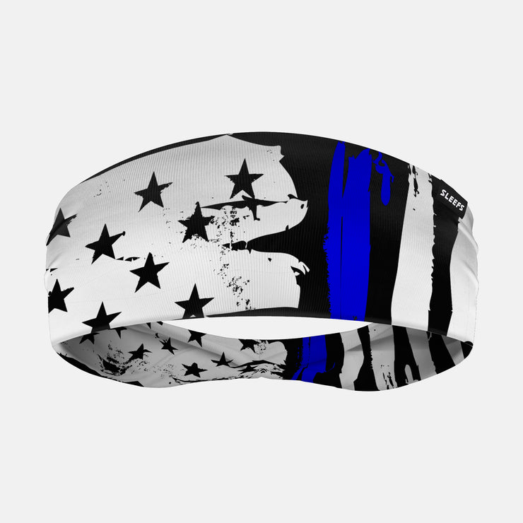 Brushes Thin Blue Line Headband