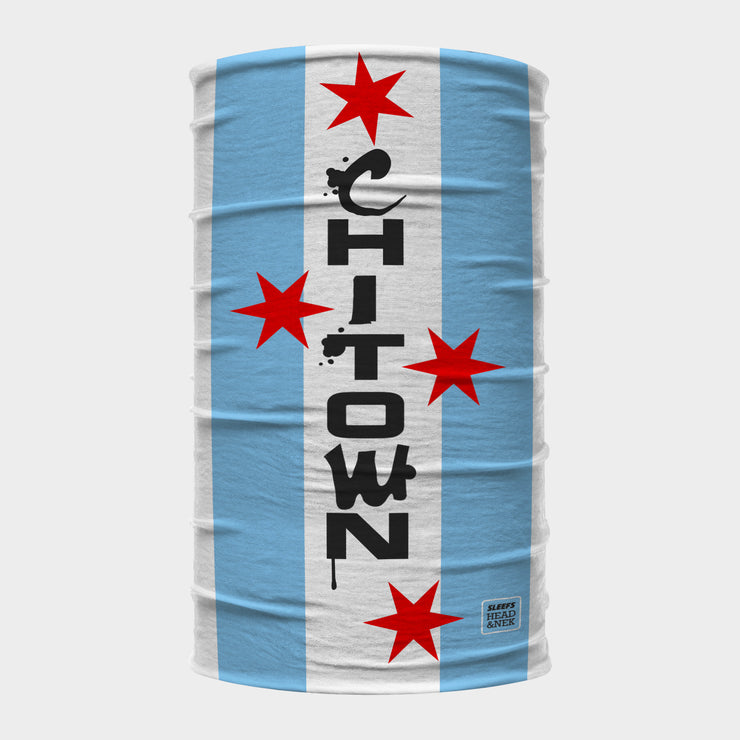 Chicago Chi-Town Neck Gaiter