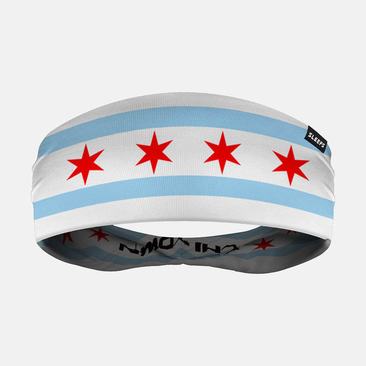 Chicago Chi-Town Double Sided Headband