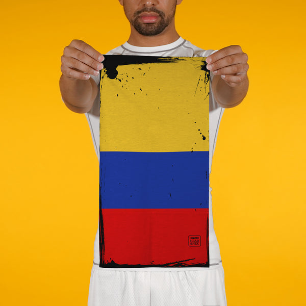 Colombia Brushed Flag Neck Gaiter