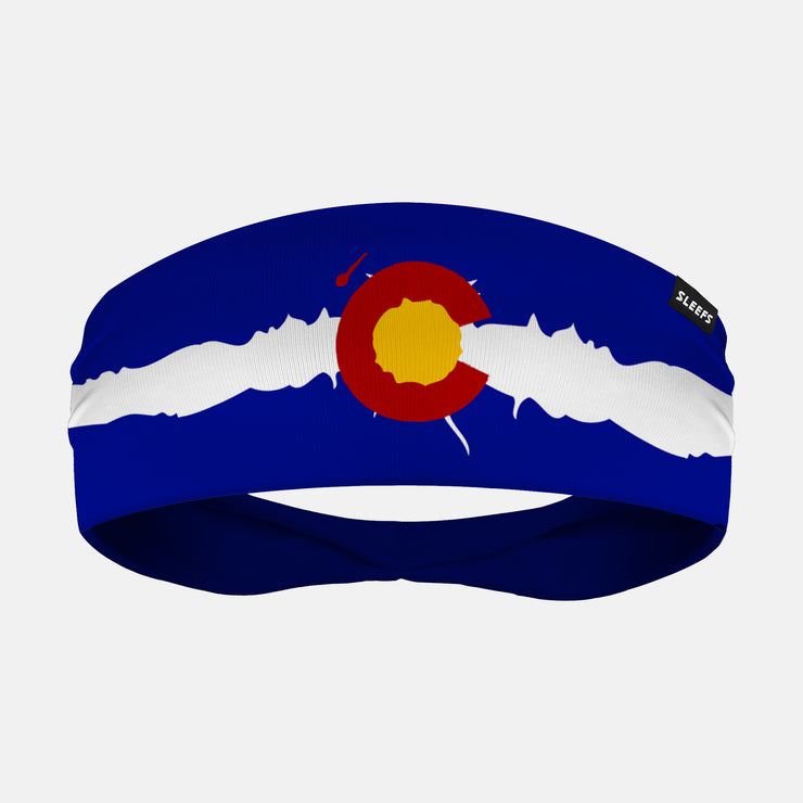Colorado State Flag Headband