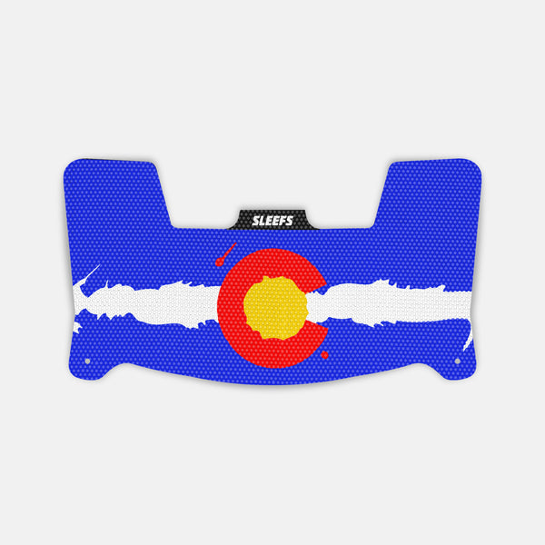 Colorado Flag Visor Skin