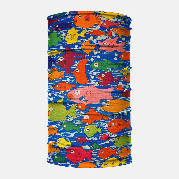 Colorful Aquarium Neck Gaiter