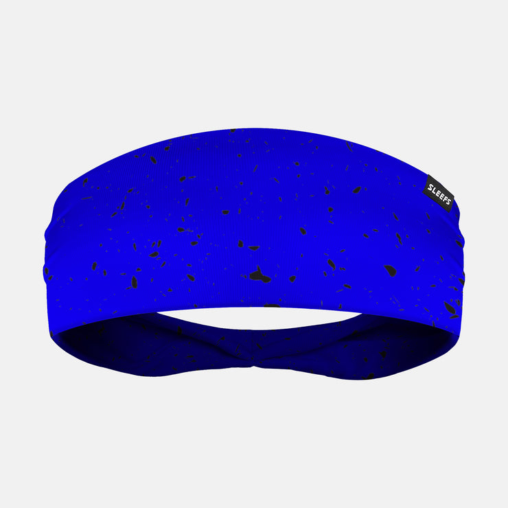 Concrete Blue Headband