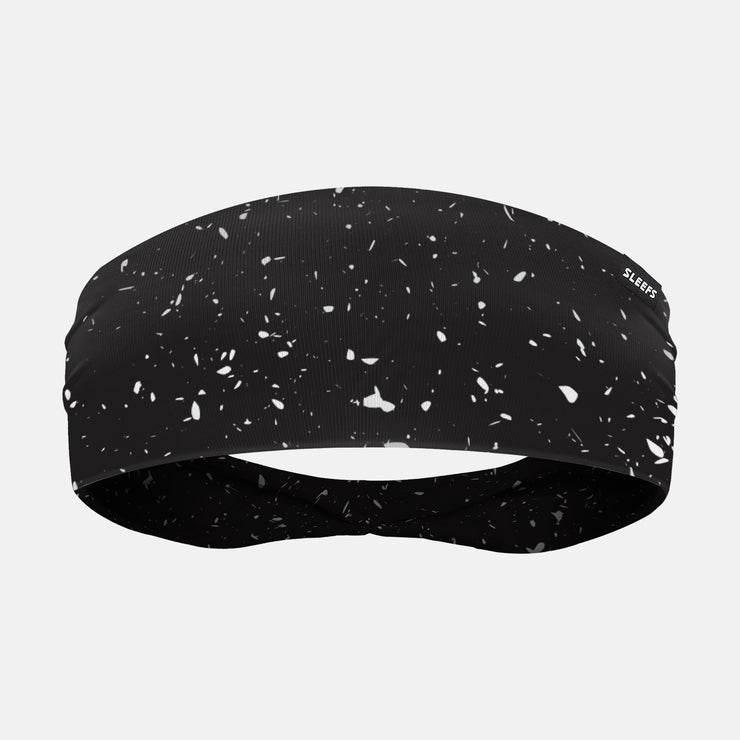 Concrete Black Headband