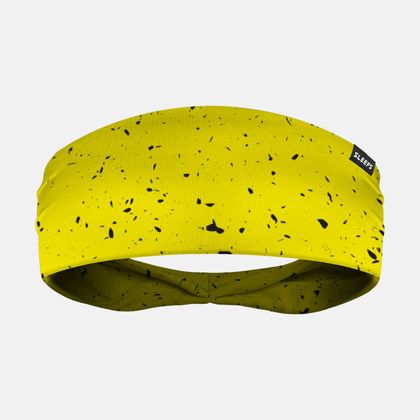 Concrete Yellow Headband