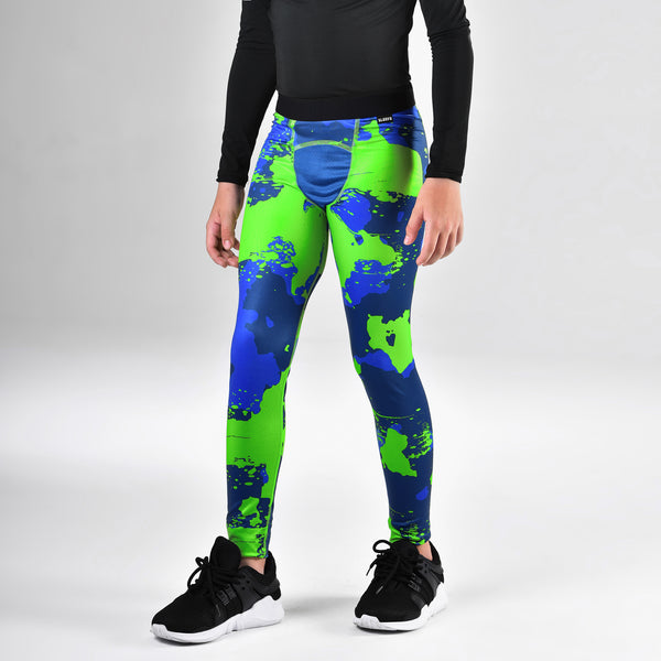 Corrosive Midnight Hawk Tights for Kids
