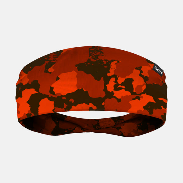 Corrosive Brown Orange Headband