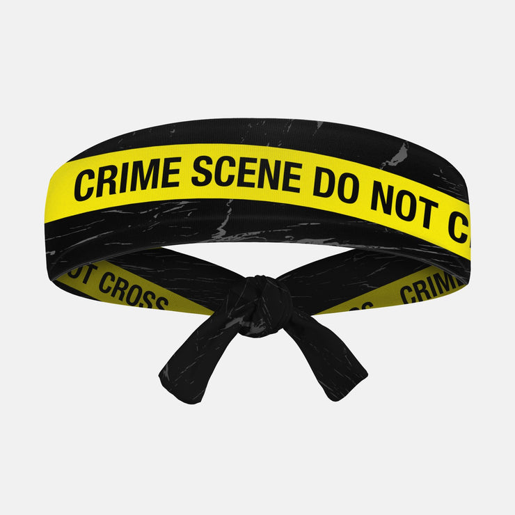 Crime Scene Kids Tie Headband
