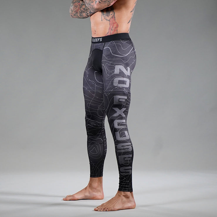 No Excuses Tactical Tights for Men