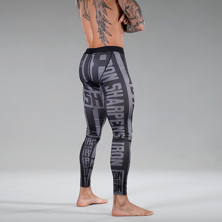 Iron Sharpens Tactical Tights for Men