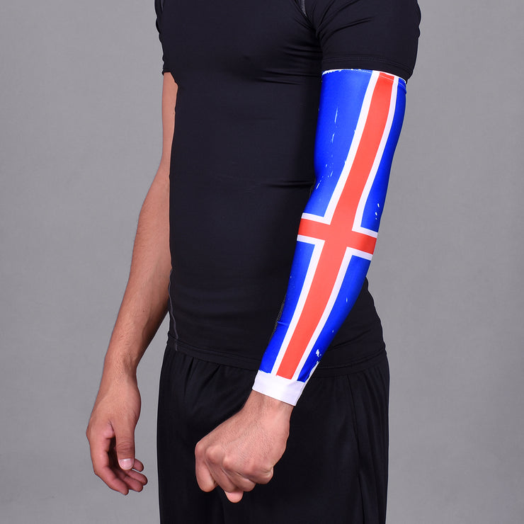 Iceland Brushed Flag Arm Sleeve