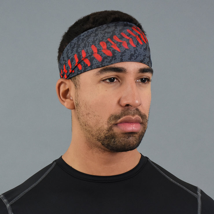 Baseball Black Widow Headband
