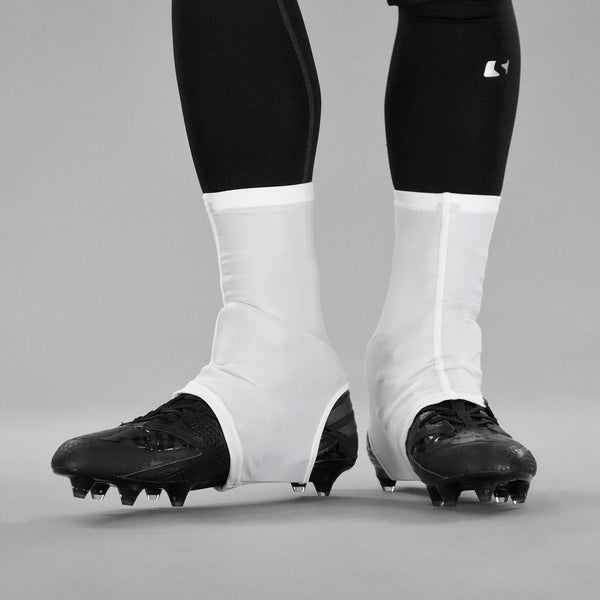 White Powder Spats / Cleat Covers