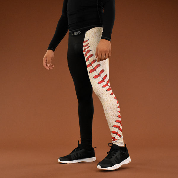 Half Old Baseball Tights for men