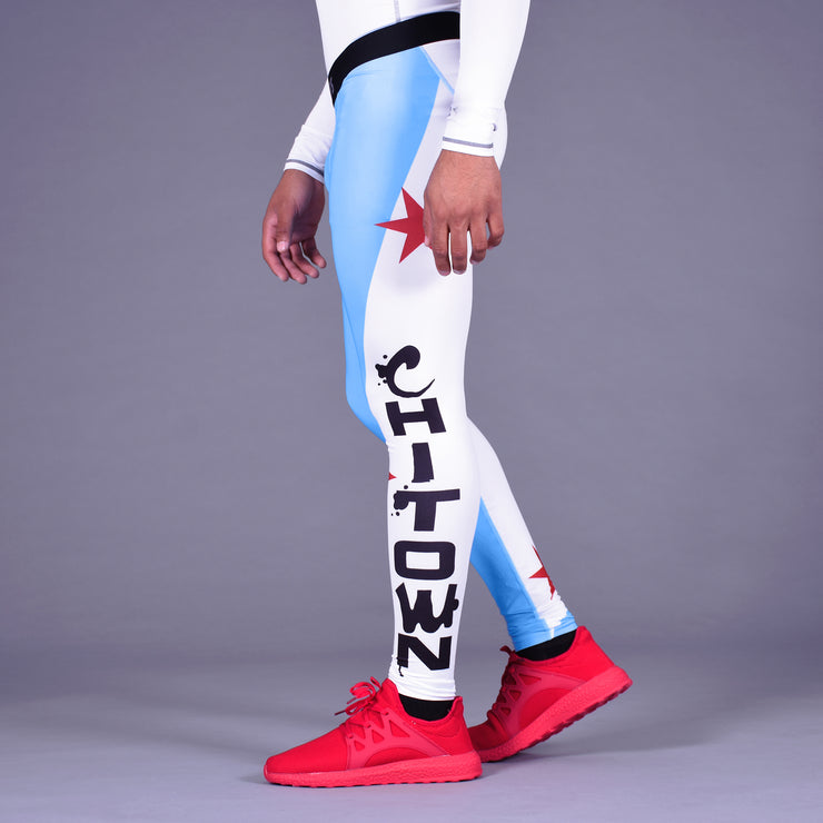 Chicago Chi-Town Tights for men