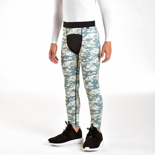 Digital Camo Tight for Kids
