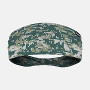 Digital Camo Gray Headband