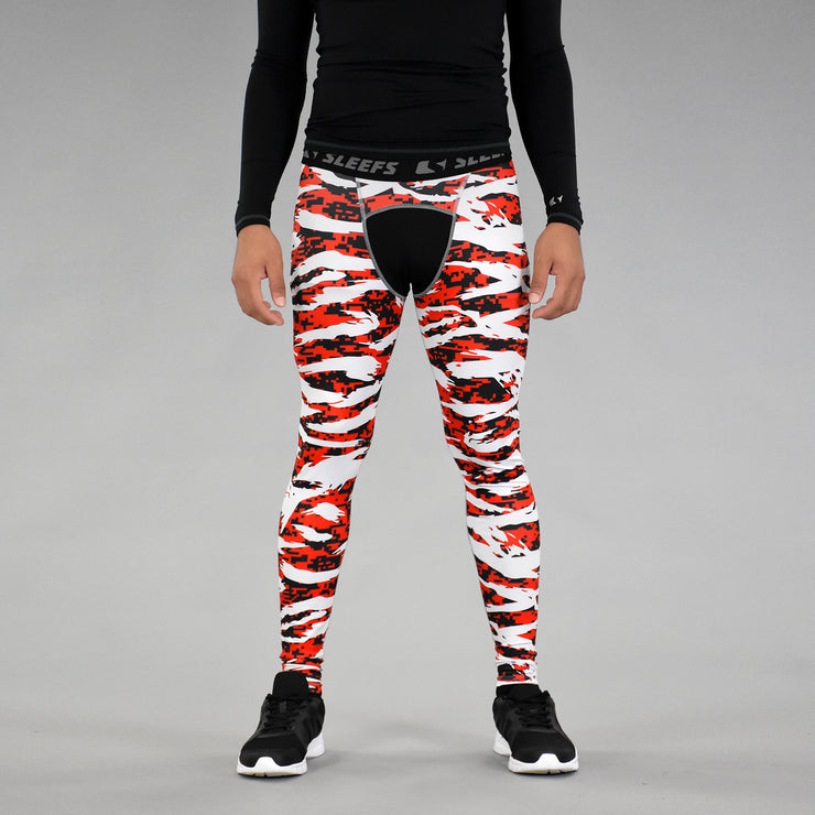 Digital Ripped camo RBW Tights for men